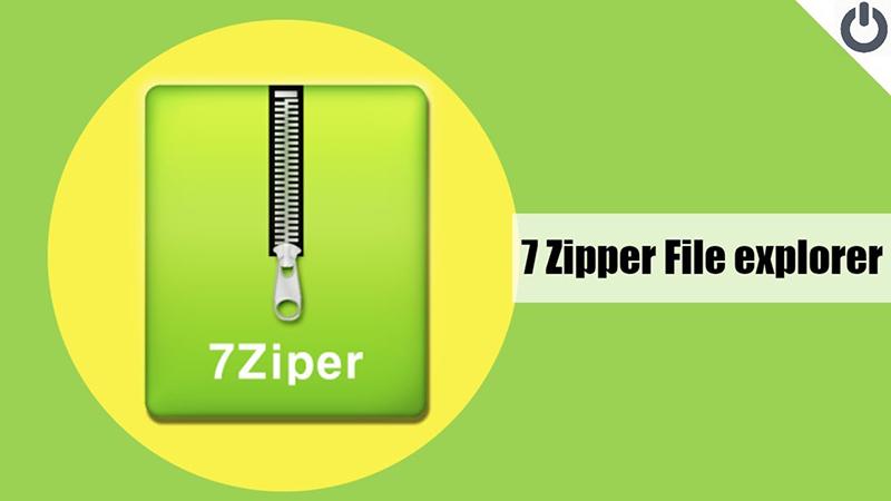 برنامه فشرده ساز 7Zipper