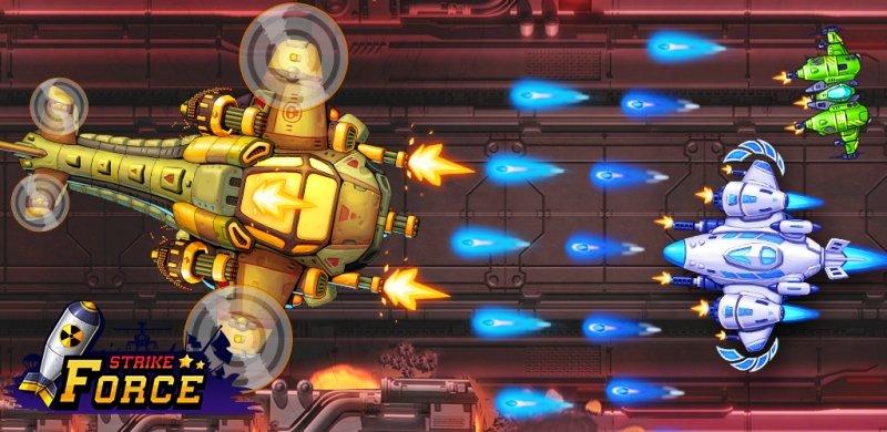 بازی دفاع از کهکشان برای اندروید